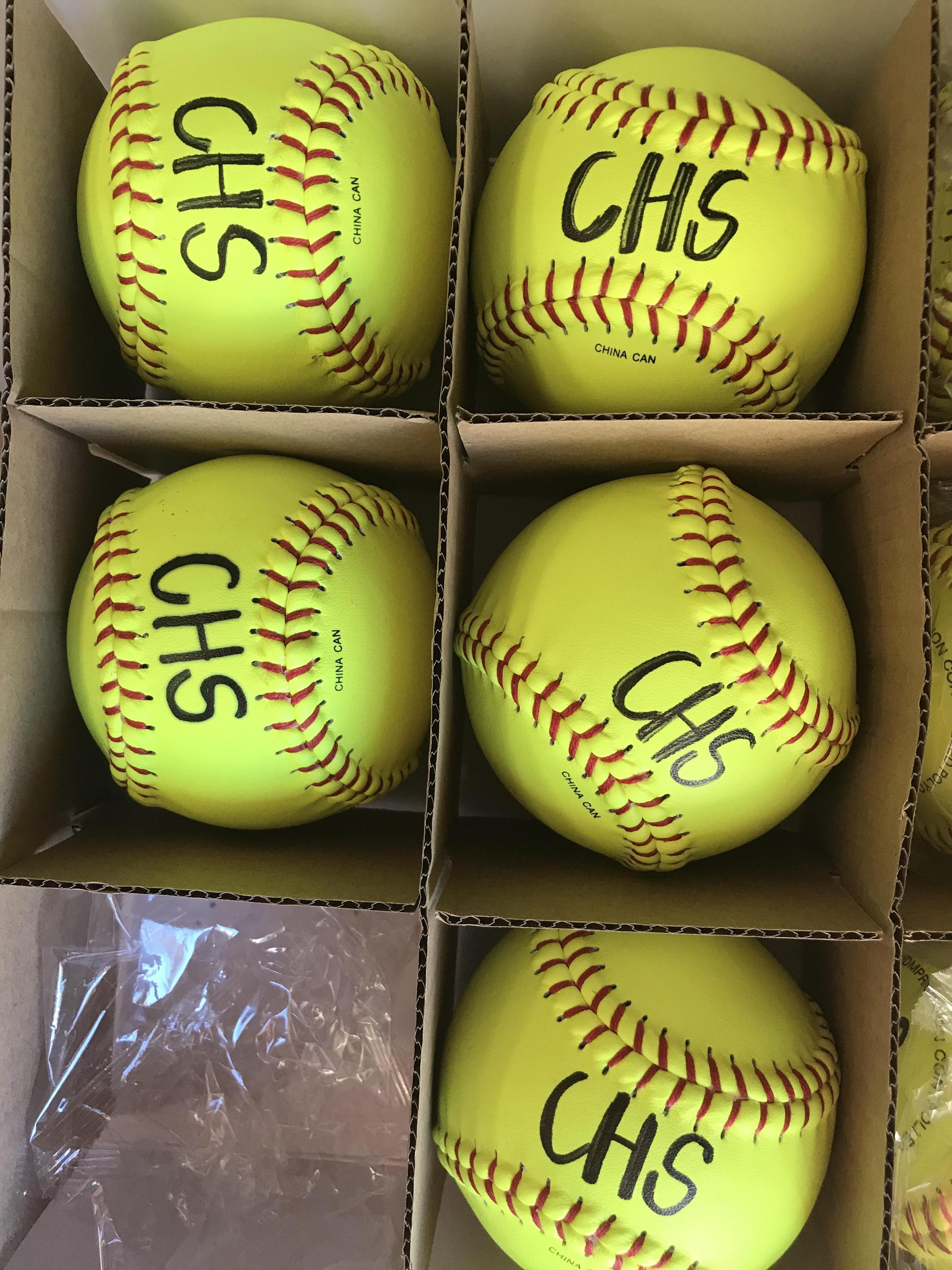 CHS Softballs