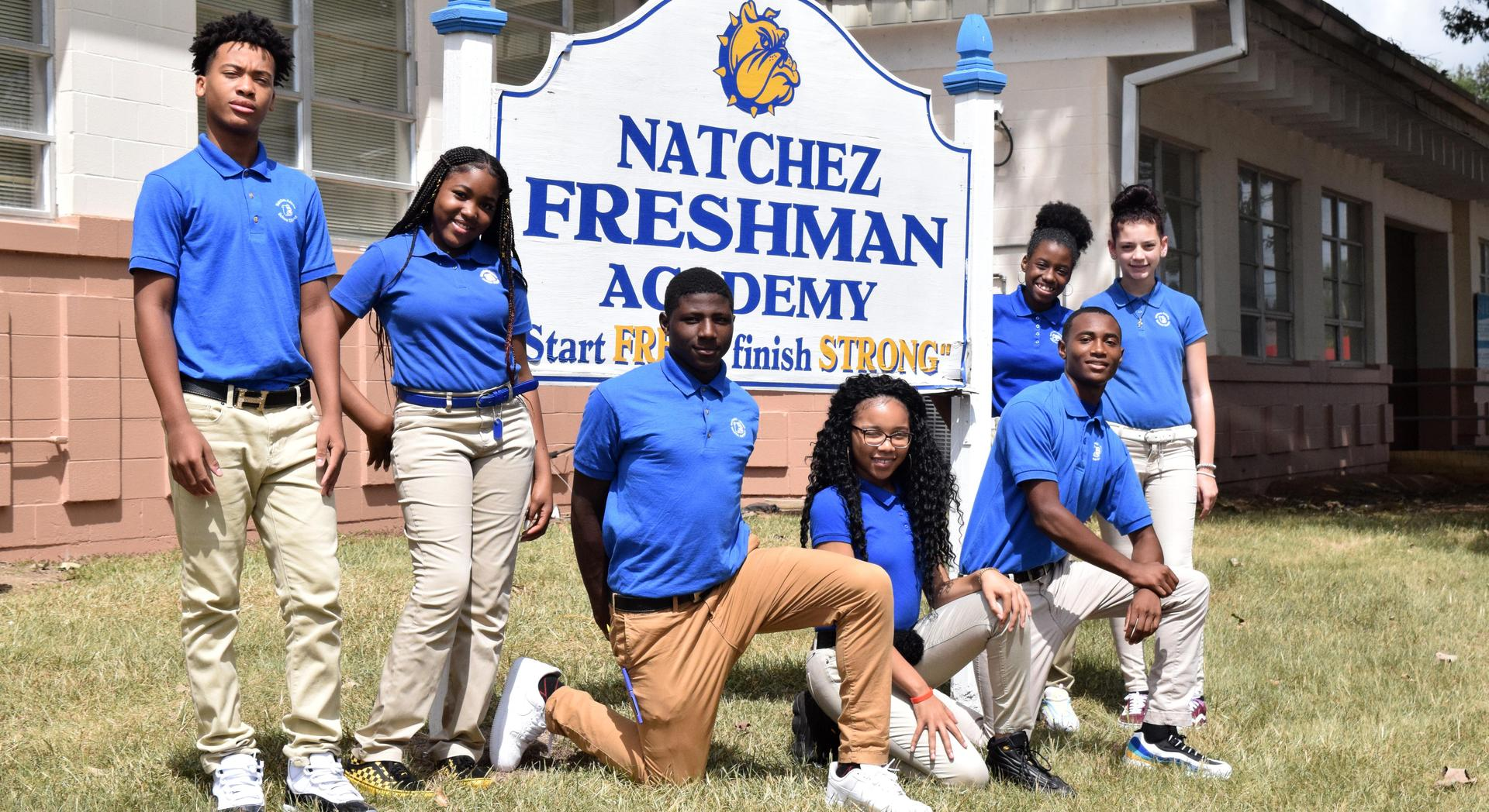 Natchez Freshman Students