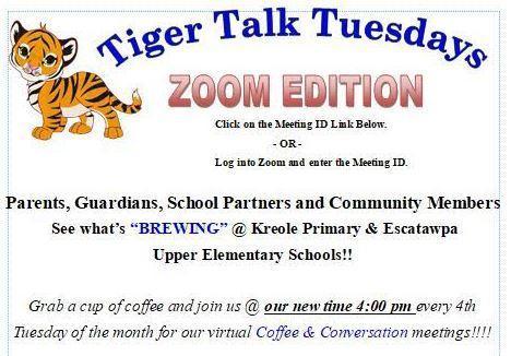 Tiger Talk Newsletter