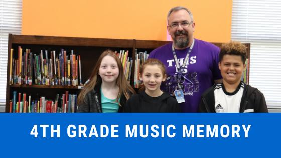 4th grade music memory