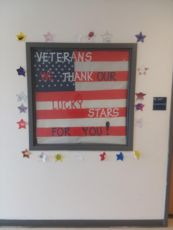 Veterans Day Window