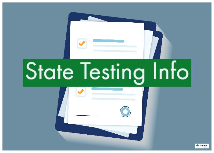 State Testing Information