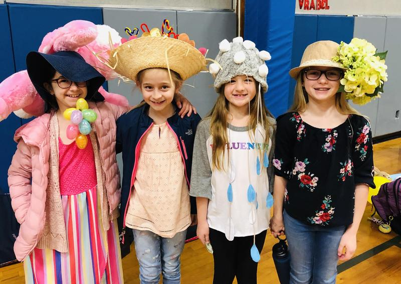 SJS Hosts Annual Easter Hat Parade Featured Photo