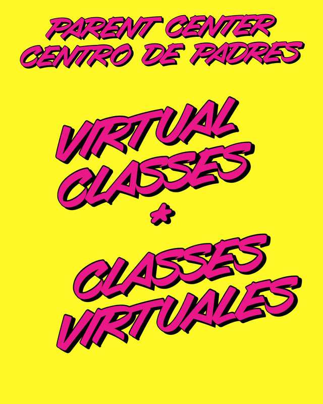 Parent Center Virtual Classes / Clases Virtuales Thumbnail Image