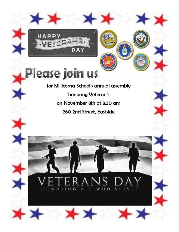 Millicoma Vetern's Day Assembly