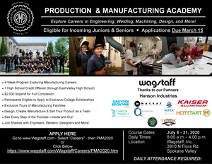 Tech academy flyer