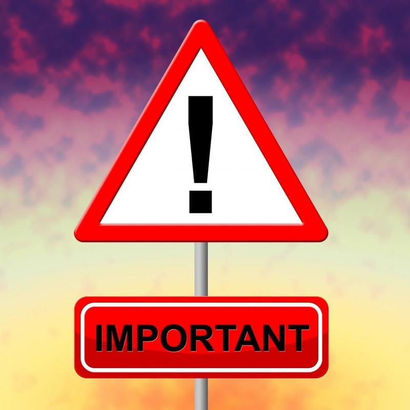 Important Notice for Participants at 8/23 School Board Meeting Featured Photo