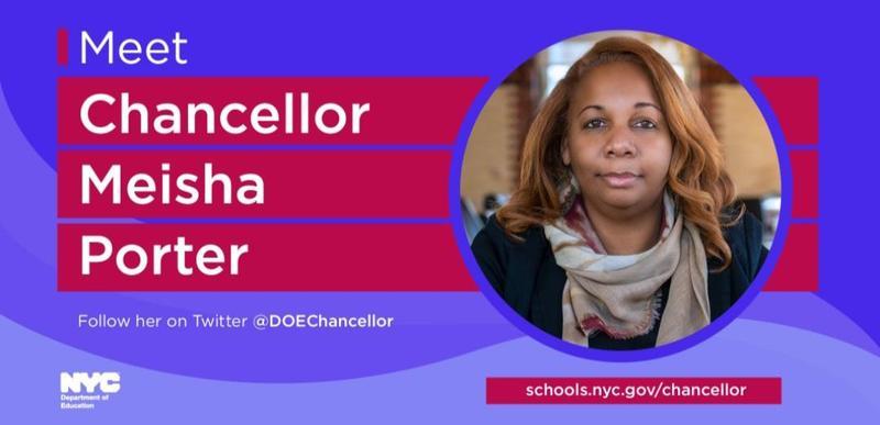 NYCDOE Chancellor Meisha Porter
