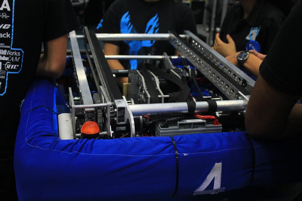 Close up of robot