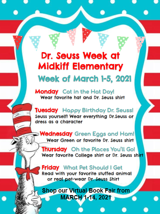 Celebrate Dr. Seuss Week! Featured Photo