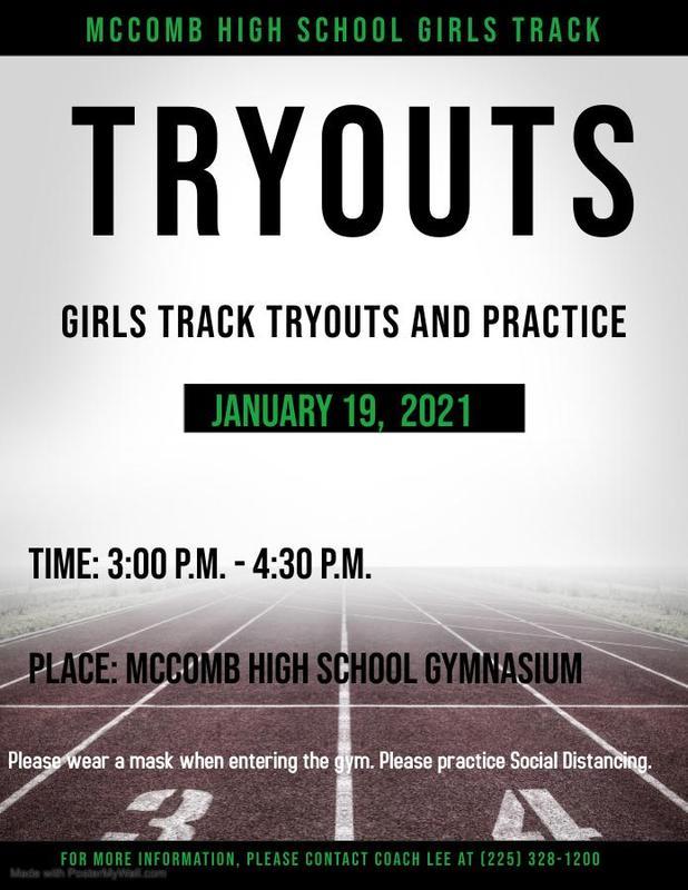 McComb High School Girls Track and Field News 2021