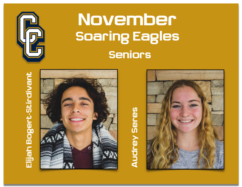 Congratulations to the November Soaring Eagles! Featured Photo