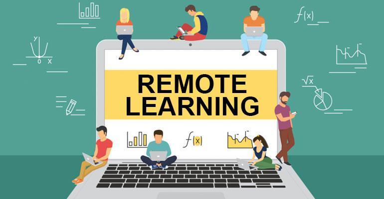 100% At-Home Remote School Day Schedule Thumbnail Image