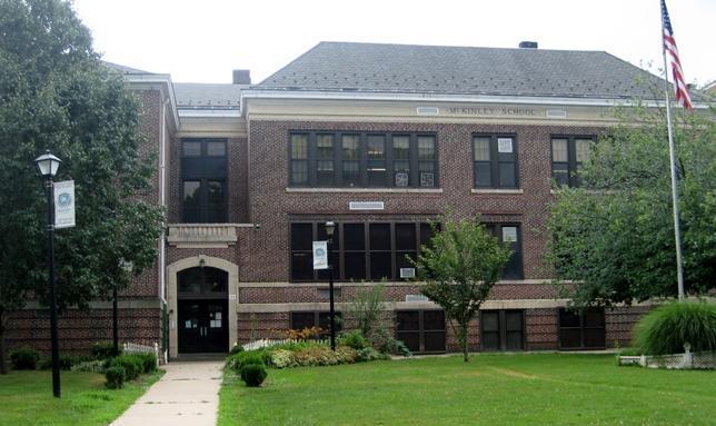 Exterior of McKinley School