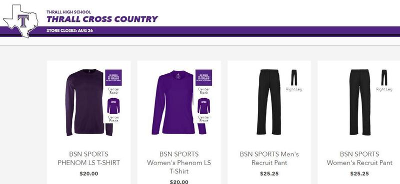 Tiger Gear Cross Country Online Store Open! Thumbnail Image