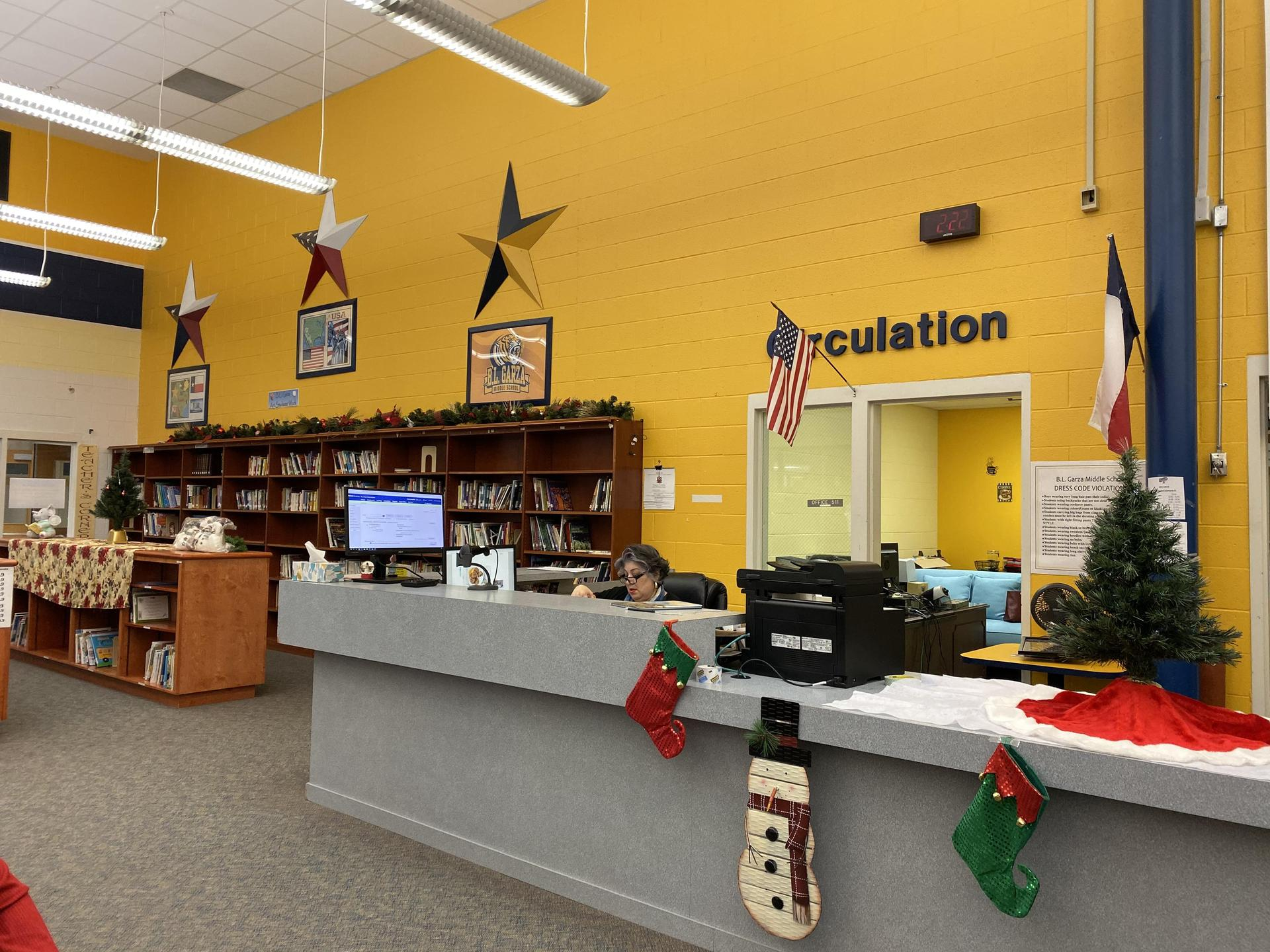 BL Garza Library