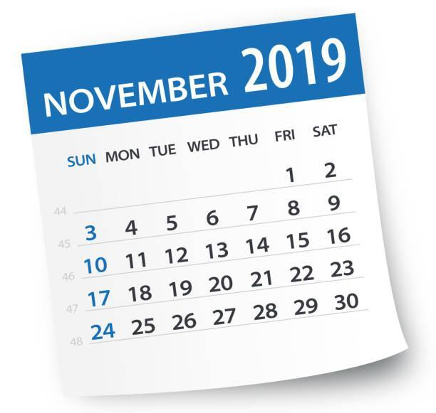 November Student Calendar Featured Photo