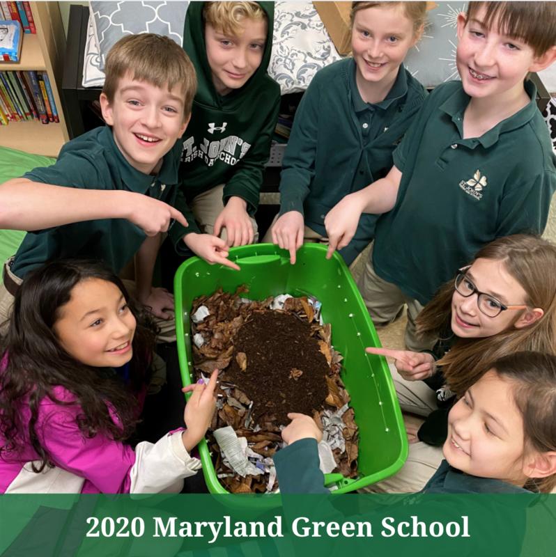 St. John's Parish Day School Named Maryland Green School Thumbnail Image