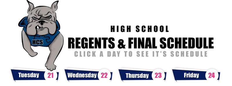 Midterm/Regents Exam Schedule