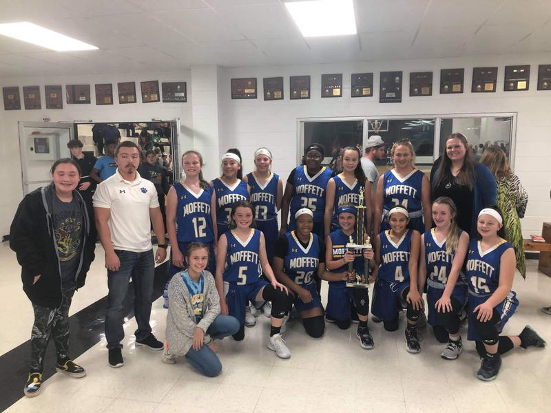 7/8th Lady Wildcats won 2nd place in the Gans Tournament! Featured Photo