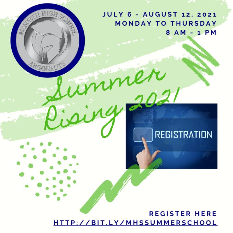 Summer Rising Registration