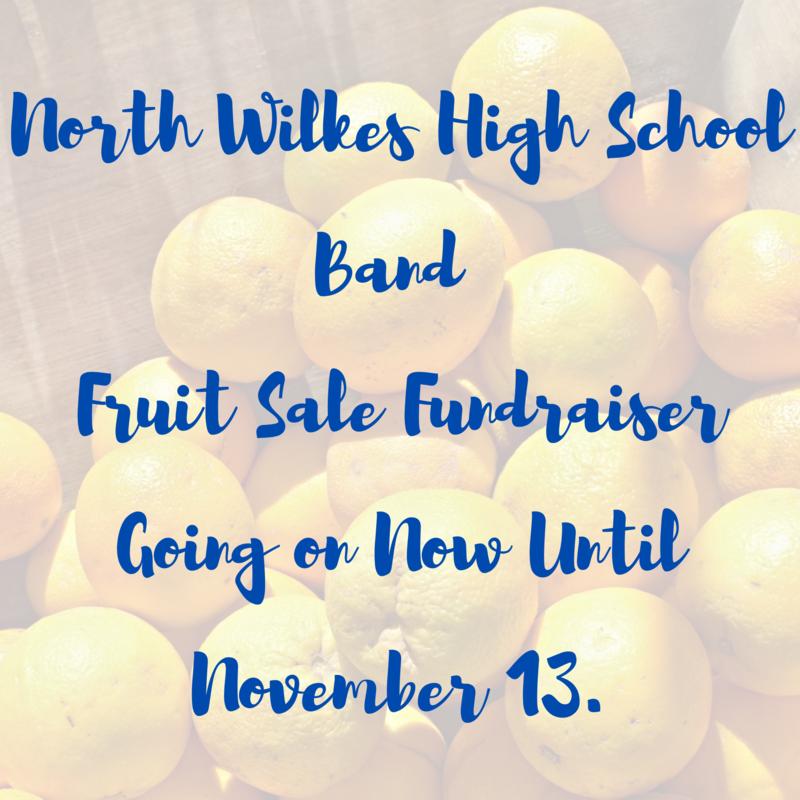 band fruit sale fundraiser