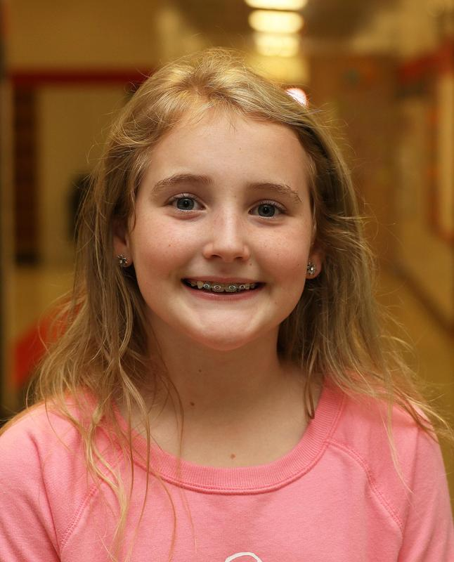 Elementary Student of the Month is Veronica Touchette Thumbnail Image
