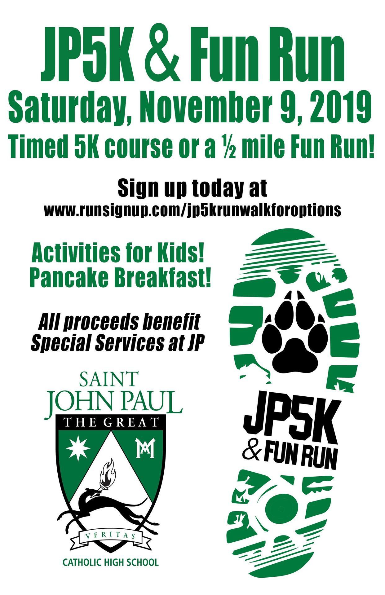 JP5K and Fun Run