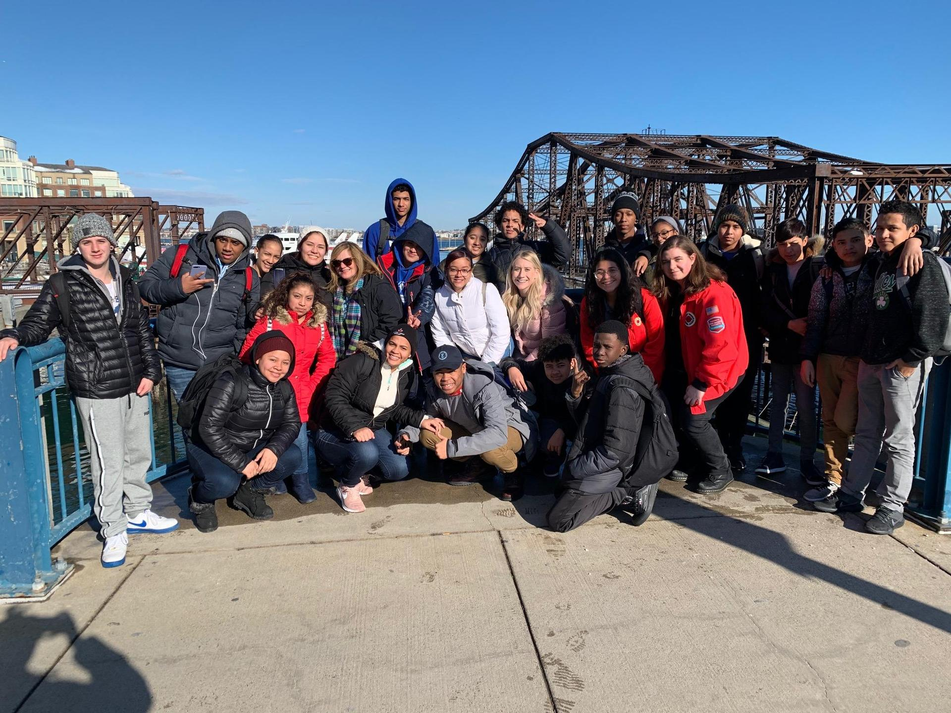 ESL field trip to the ICA in December 2019
