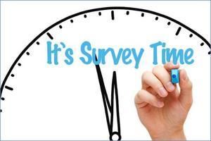 It's Survey Time