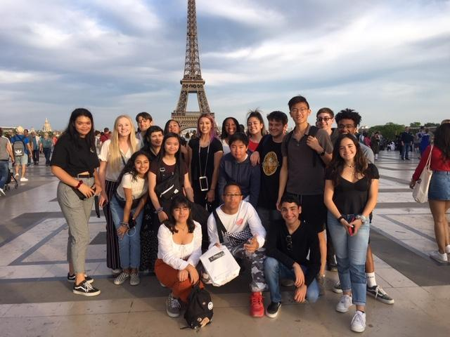 French Students Spend Spring Break in Paris Thumbnail Image
