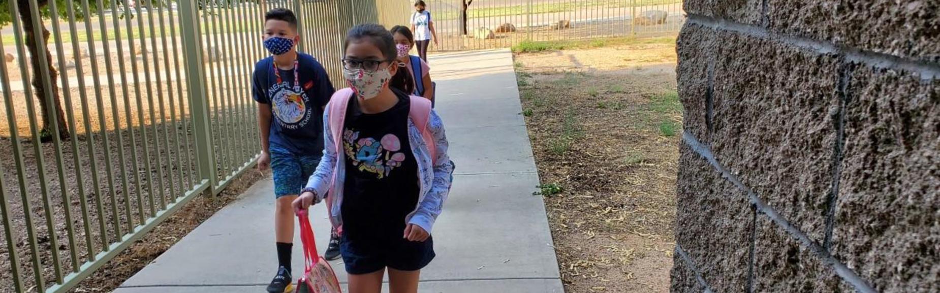 entering school