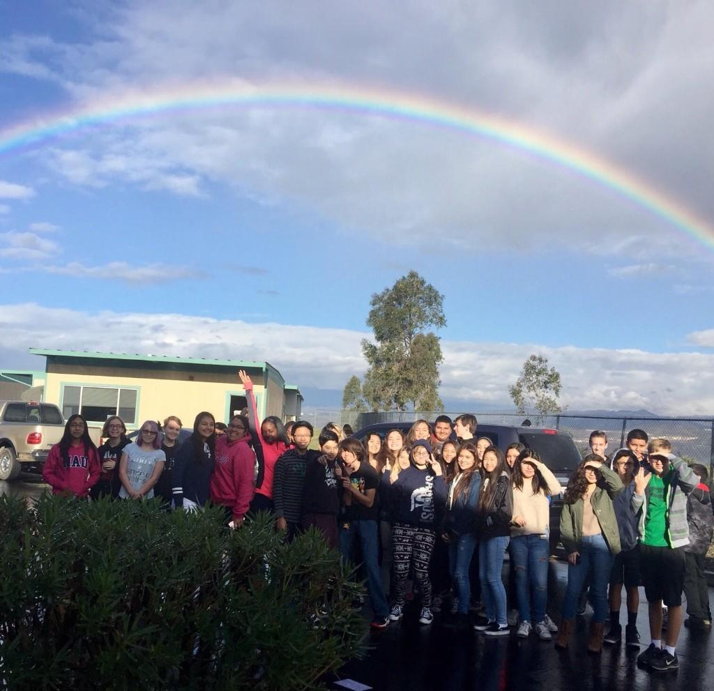 Beautiful Rainbow over La Mesa Jr High