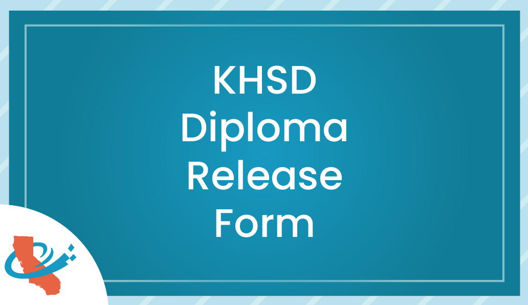 KHSD Diploma Release Form