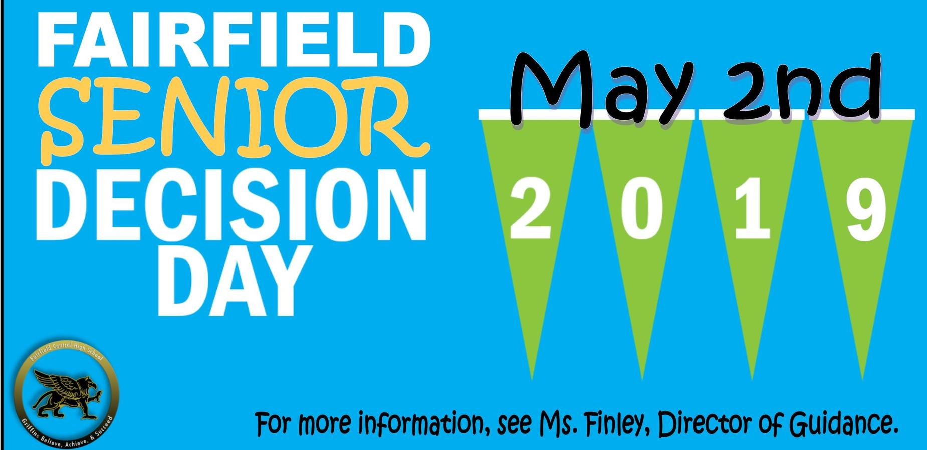 Senior Decision Day Flyer
