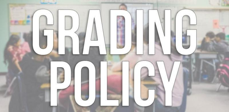 Grading Policy for 2019-2020 Thumbnail Image