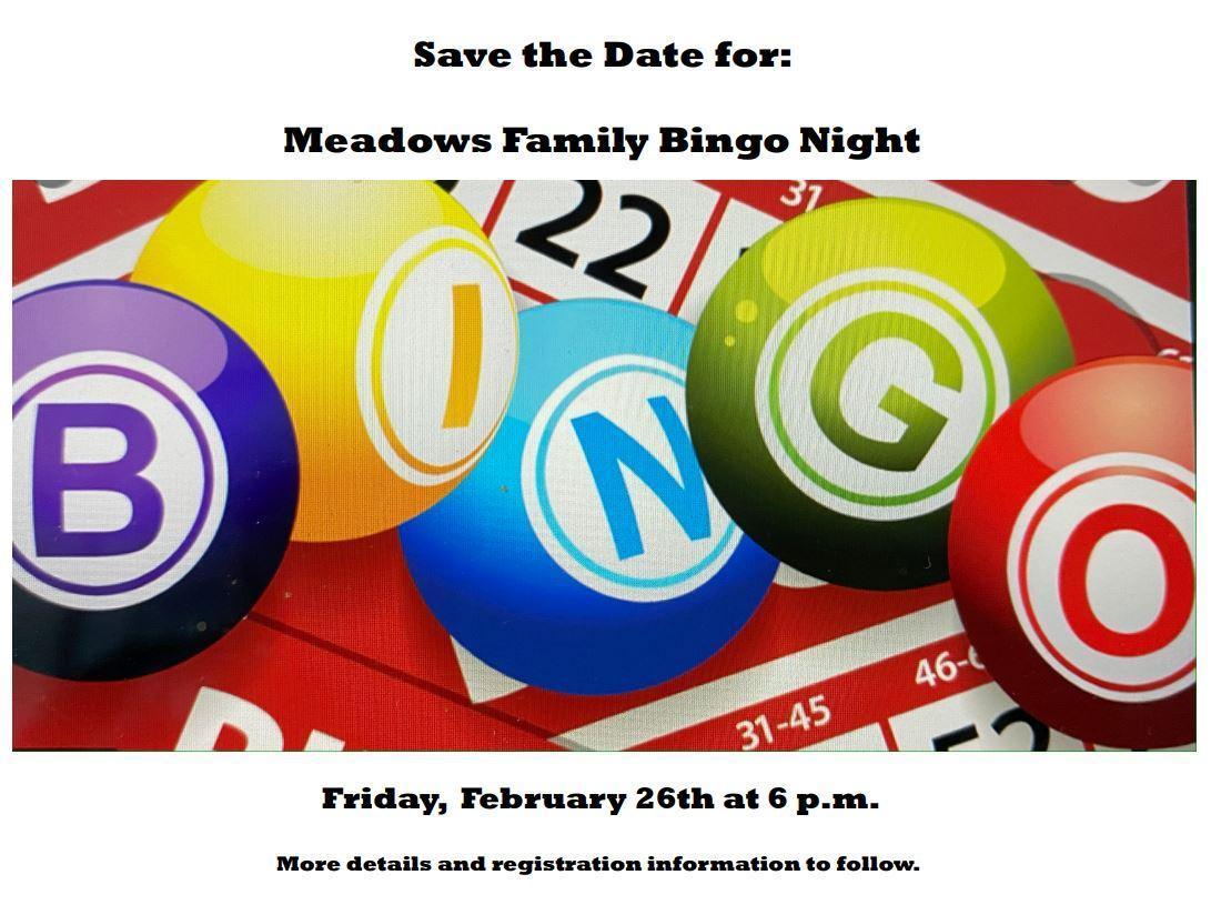 meadows bingo night