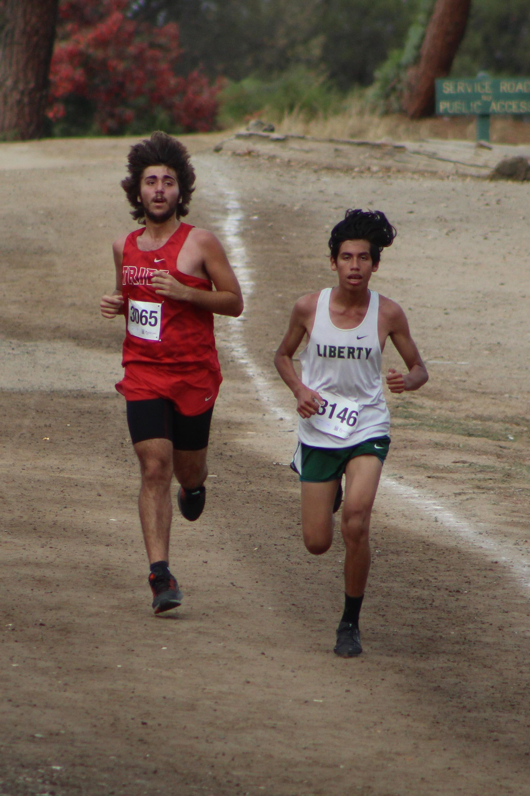 Antonio Brasil running