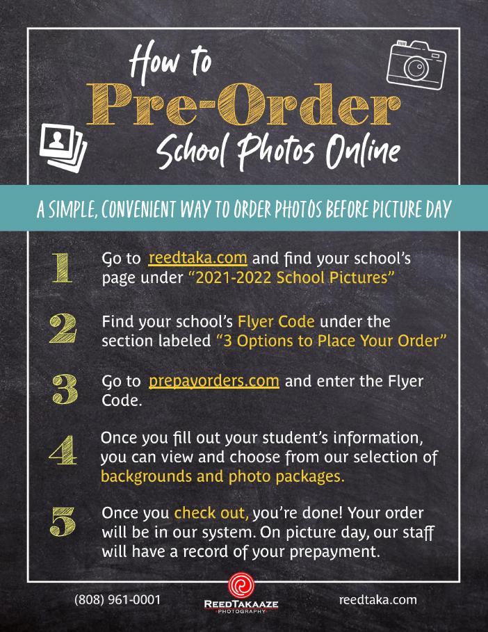 How to Pre-Order School Photos Online