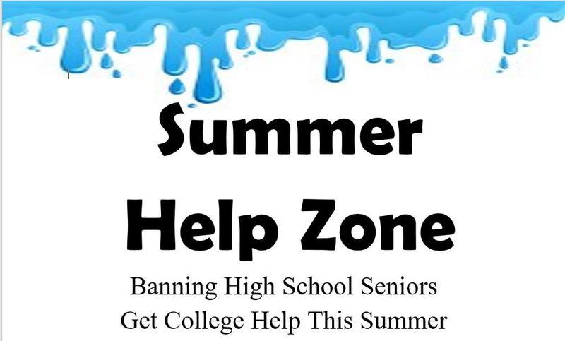 Banning High School Seniors Get College Help This Summer Featured Photo