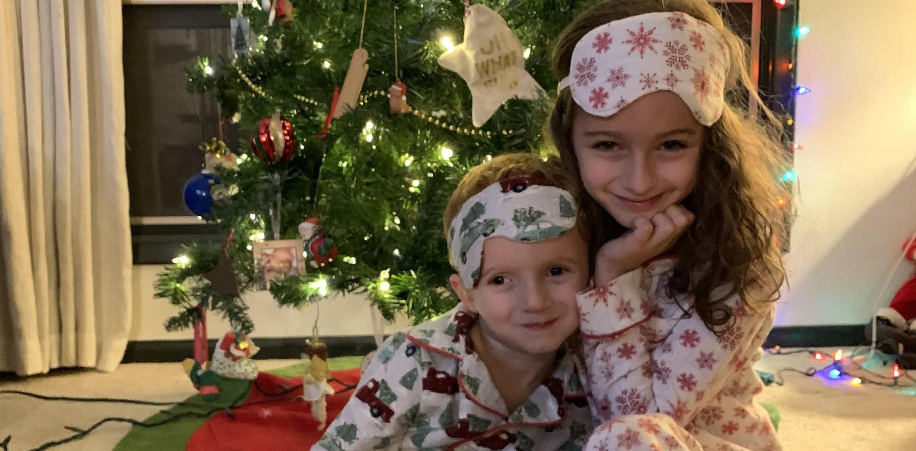 Picture of children in holiday clothing