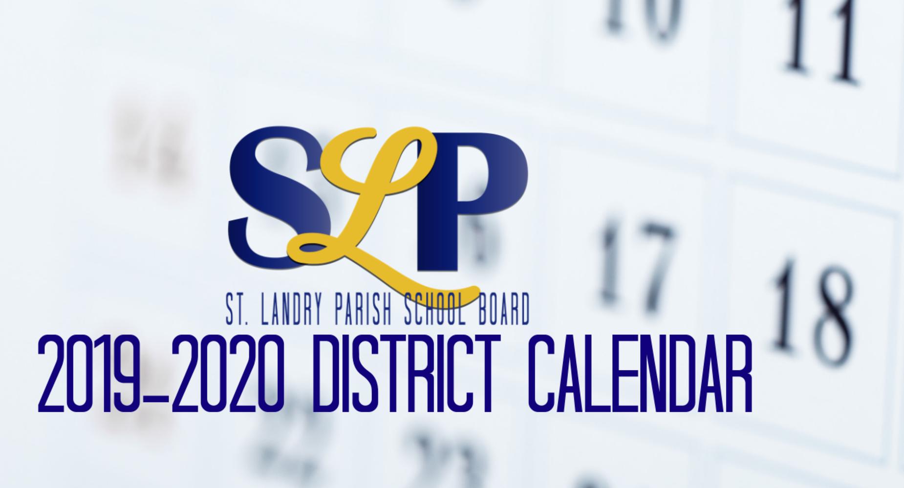 Calendario 2019 Campo Grande Ms.St Landry Parish School Board