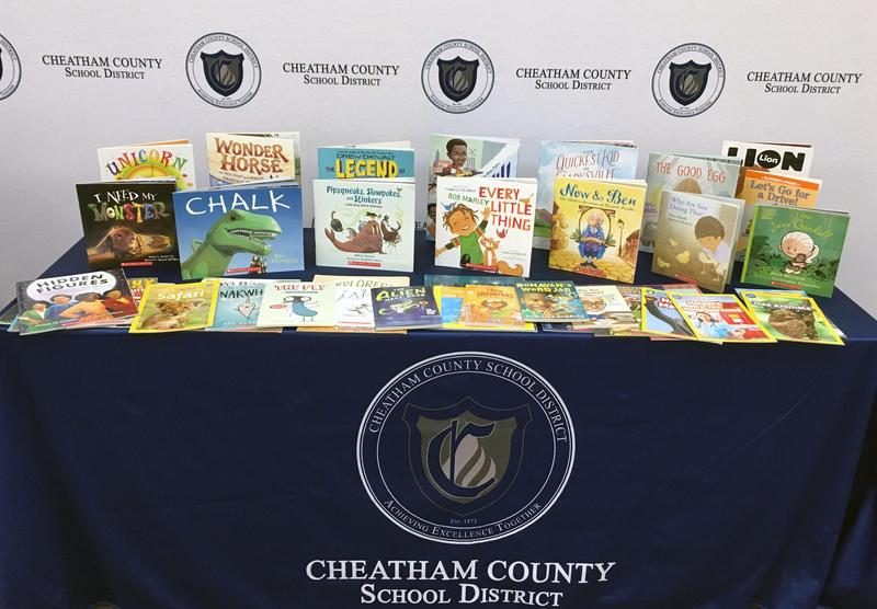 The Cheatham County School District is among the school districts participating in the K-3 School Year Book Delivery program.