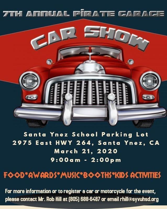 7th Annual Pirate Garage Car Show Featured Photo