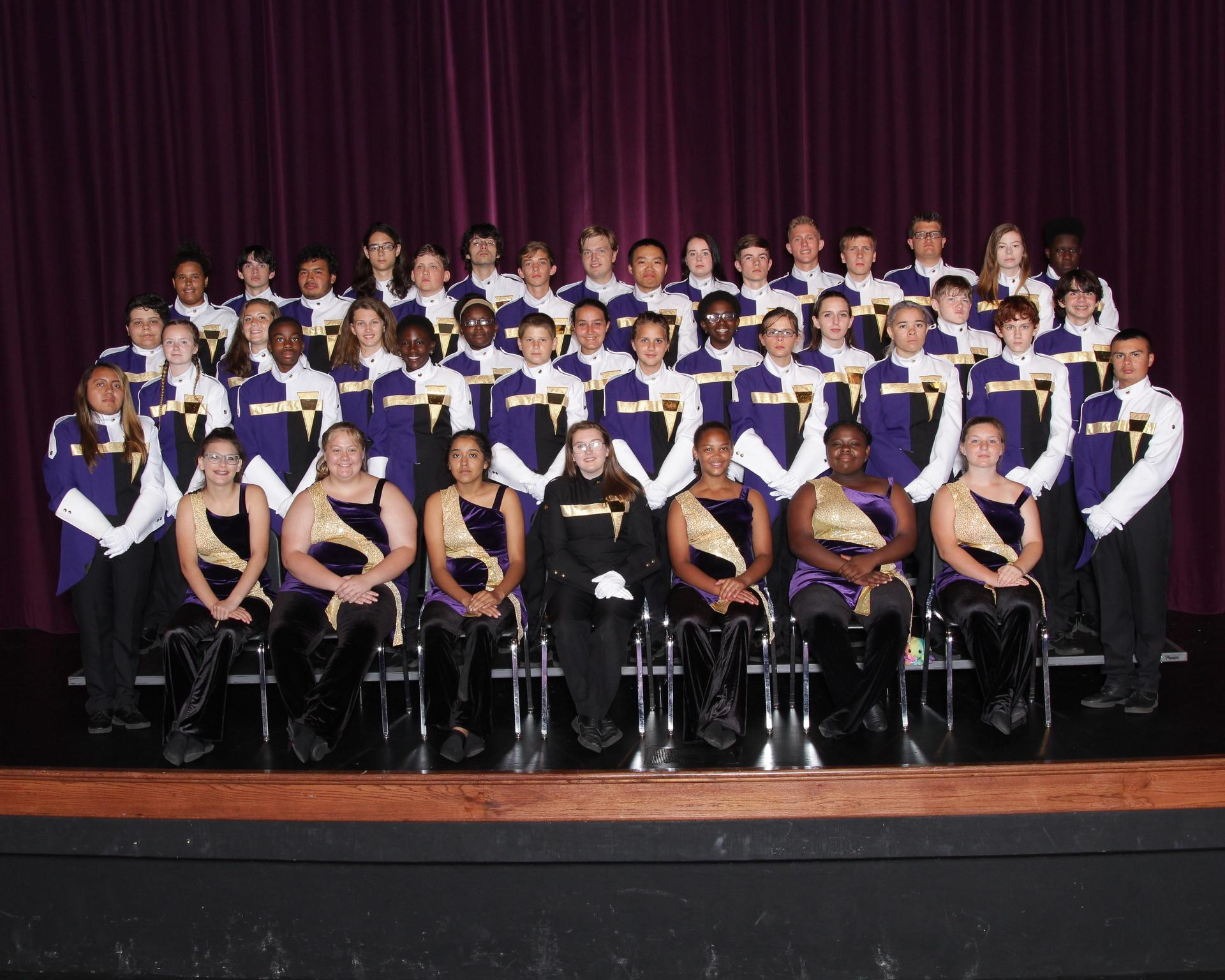 Pictured is the Panther Band