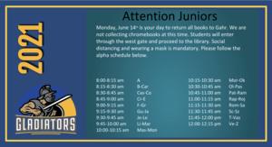 Junior Book Return
