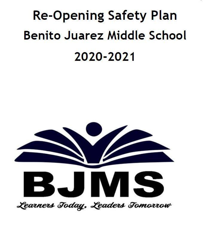 BJMS Re-Opening Safety Plan Featured Photo