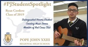 Ryan Cordero Student Spotlight