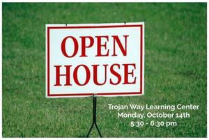 trojan way open house information