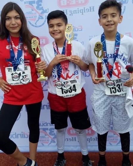 brothers win big at 10K run